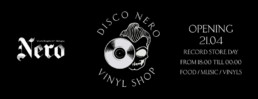 Dissco Nero record Store Day